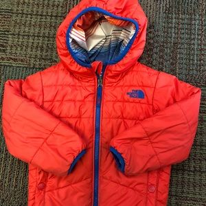 North Face 3T Perrito Coat Jacket Reversible